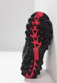 CMP - RIGEL LOW TREKKING SHOE WP - Hiking shoes - antracite/offwhite - 4
