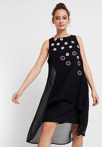 Desigual - CORDOBA - Denní šaty - black - 0