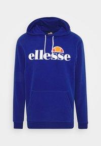 Ellesse - GOTTERO - Bluza z kapturem - blue - 4