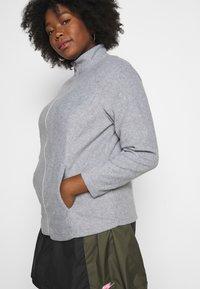 CAPSULE by Simply Be - Fleece jacket - grey marl - 5