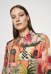Farm Rio - MYSTIC CITY PAJAMA SHIRT - Button-down blouse - multi - 3