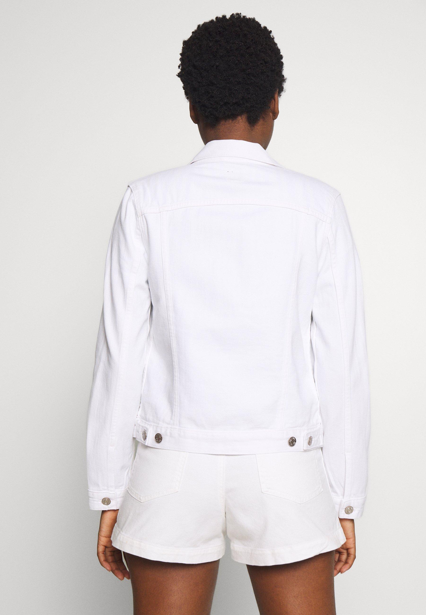 GAP ICON - Jeansjakke - optic white