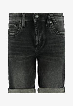 ROBERT - Jeansshort - black