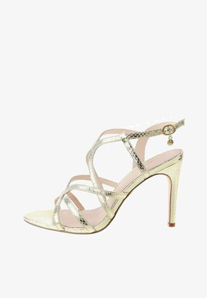 TASCENO  - High heeled sandals - platinum