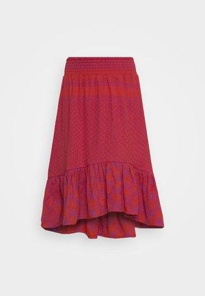 STINNE - A-line skirt - fuchsia