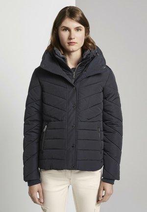 MIT FELLKRAGEN - Winter jacket - sky captain blue