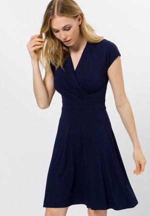 Jersey dress - desert night blue
