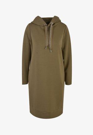 Shirt dress - oliv