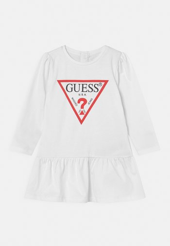 DRESS SET - Jersey dress - true white