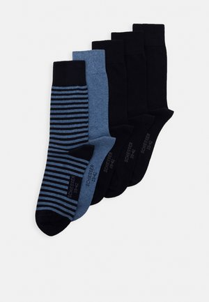 5 PACK - Strumpor - dark blue