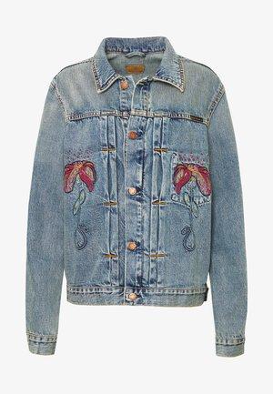 VINNY - Kurtka jeansowa - blue denim
