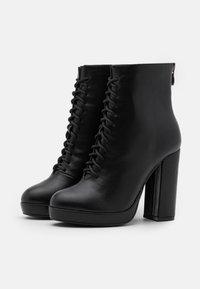 KHARISMA - Kotníková obuv na vysokém podpatku - nero - 2