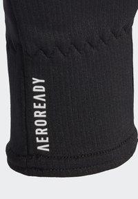 adidas Performance - AEROREADY GLOVES - Fingervantar - black - 2