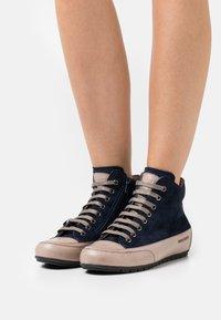 Candice Cooper - PLUS  - Sneakers hoog - navy/tamponato stone - 0