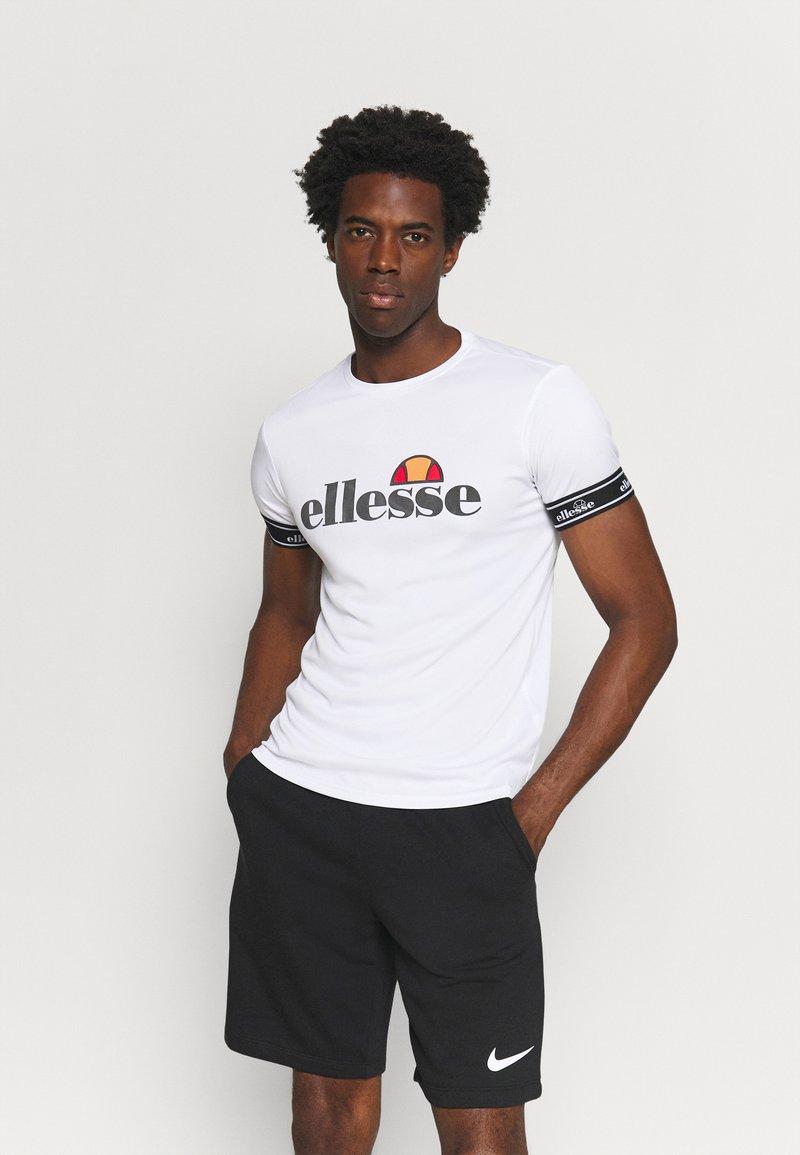 Ellesse - ALENTE - T-shirt med print - white