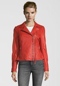 KRISS - NINA - Leren jas - fire red - 0