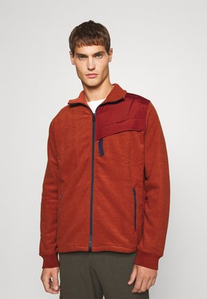 ZIP THROUGH UNISEX - Zip-up sweatshirt - orange
