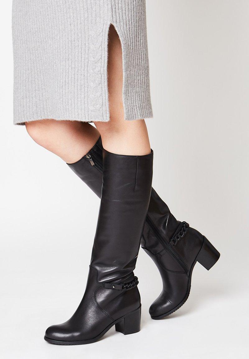 faina - Boots - schwarz