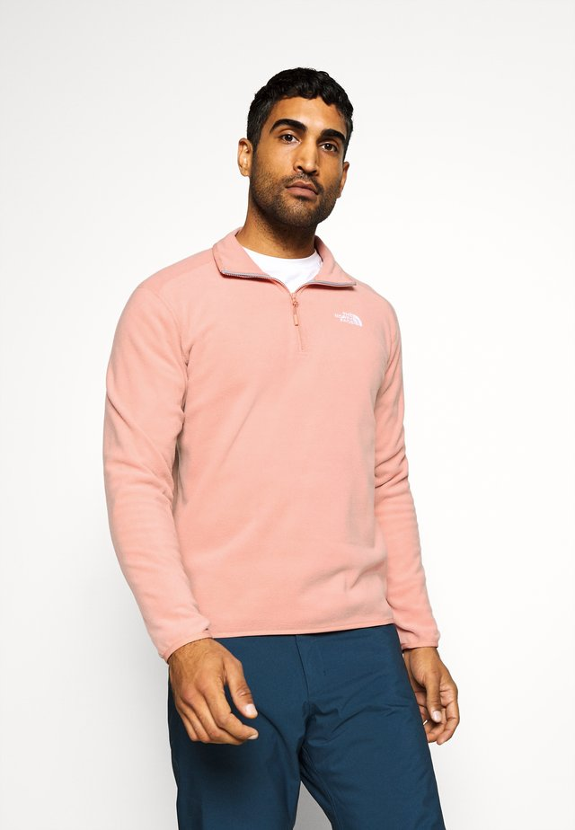 GLACIER 1/4 ZIP - Fleece jumper - pink clay
