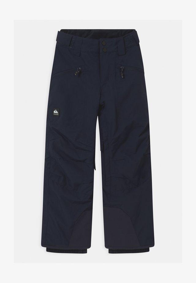 BOUNDRY UNISEX - Talvihousut - navy blazer