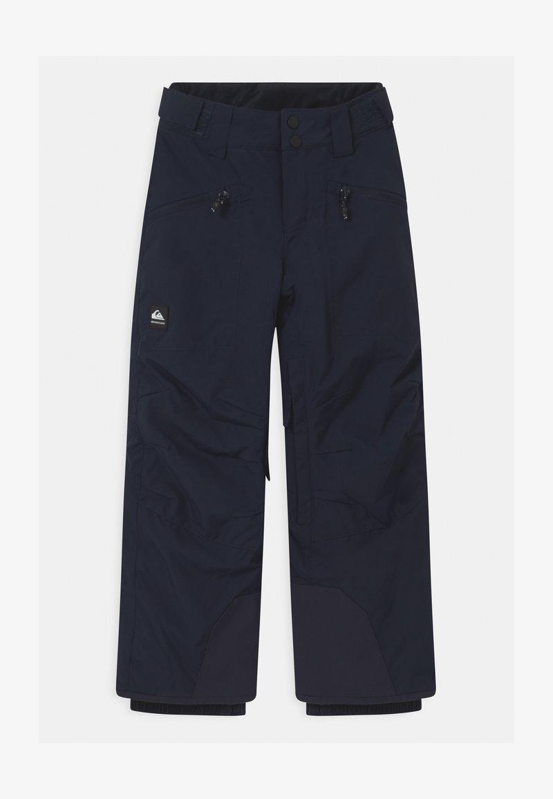 Quiksilver - BOUNDRY UNISEX - Spodnie narciarskie - navy blazer