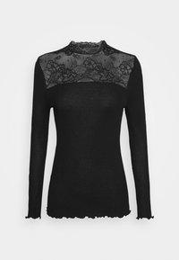 Rosemunde - Maglietta a manica lunga - black - 5
