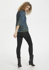 Denim Hunter - DHZITHA  - Blouse - blue zebra print - 3