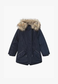 Lemon Beret - SMALL GIRLS - Winter coat - navy blazer - 0