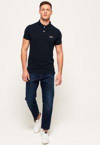 Superdry - MIT KURZEN ÄRMELN - Polo shirt - dark navy blue - 1