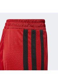 adidas Performance - Sportovní kraťasy - scarle - 5