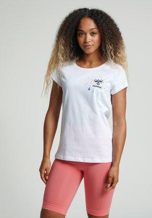 HMLSPRING - Print T-shirt - white