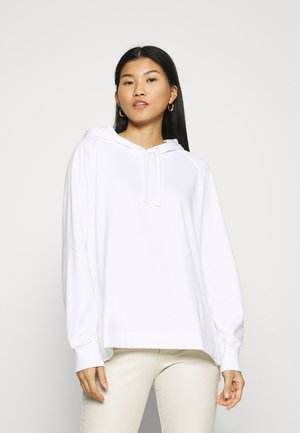 SIDE VENT OVERSIZED HOODIE - Mikina s kapucí - optical white