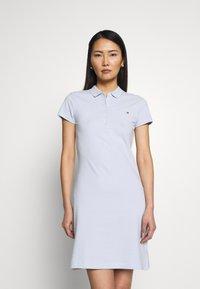 Tommy Hilfiger - SLIM DRESS - Day dress - breezy blue - 0