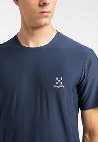 Haglöfs - Print T-shirt - tarn blue - 3