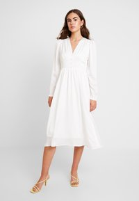 YAS - YASSUMA DRESS - Denní šaty - star white - 0