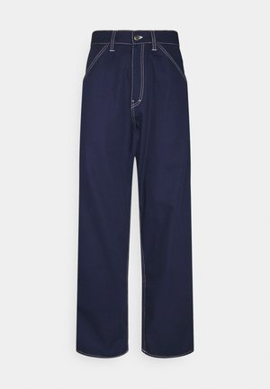 STORM PANT - Relaxed fit jeans - maritime blue