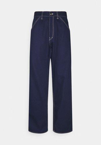 STORM PANT - Relaxed fit -farkut - maritime blue