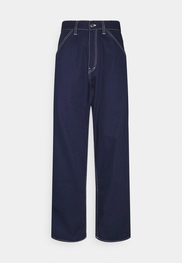 STORM PANT - Jeans baggy - maritime blue