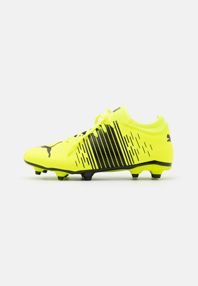 Puma - FUTURE Z 4.1 FG/AG - Moulded stud football boots - yellow alert/black/white