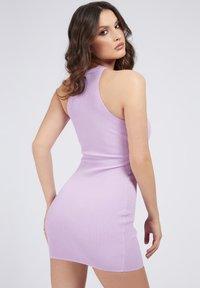 Guess - ALEXA TIE  - Shift dress - hellrose - 2