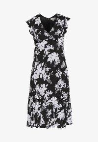 MICHAEL Michael Kors - MIDI - Day dress - black/white - 3