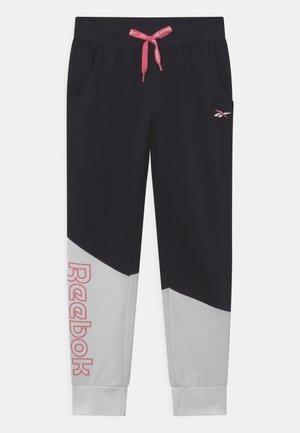 DIAGONAL - Teplákové kalhoty - black/white