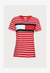 TEE REGULAR FIT FLAG - Print T-shirt - classic brenton/primary red