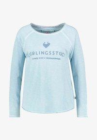 Lieblingsstück - Long sleeved top - blau - 0