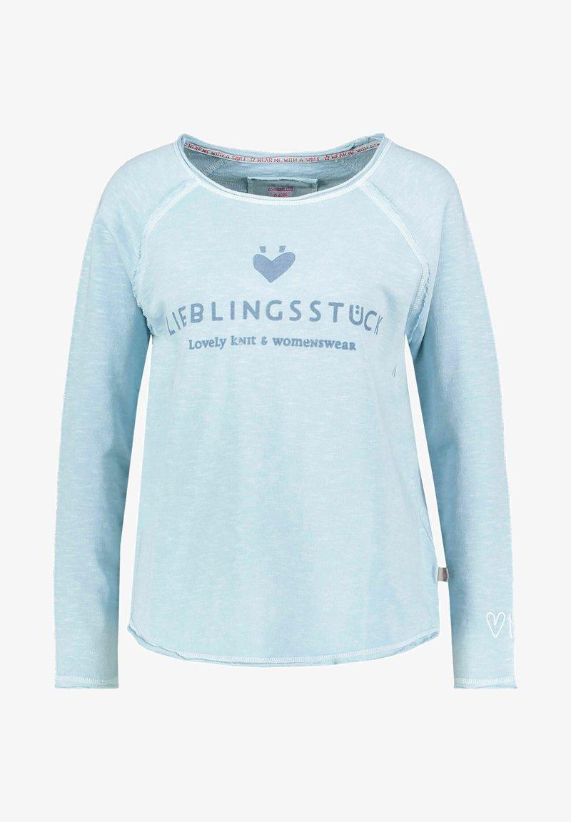 Lieblingsstück - Long sleeved top - blau