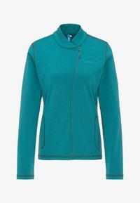 PYUA - APPEAL - Fleece jacket - petrol blue - 5