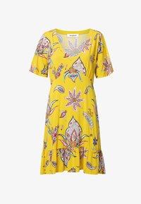 Desigual - LEMARK - Day dress - yellow - 4