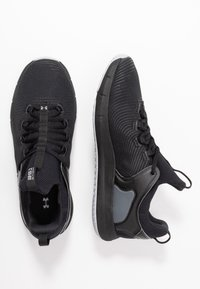 Under Armour - HOVR RISE  - Trainings-/Fitnessschuh - black/mod gray - 1