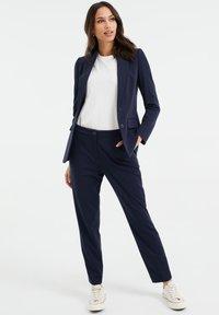 WE Fashion - Chinos - dark blue - 1