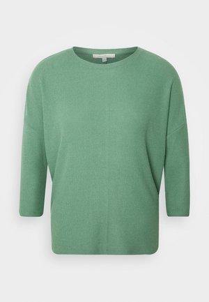 BATWING TEE - Top sdlouhým rukávem - vintage green